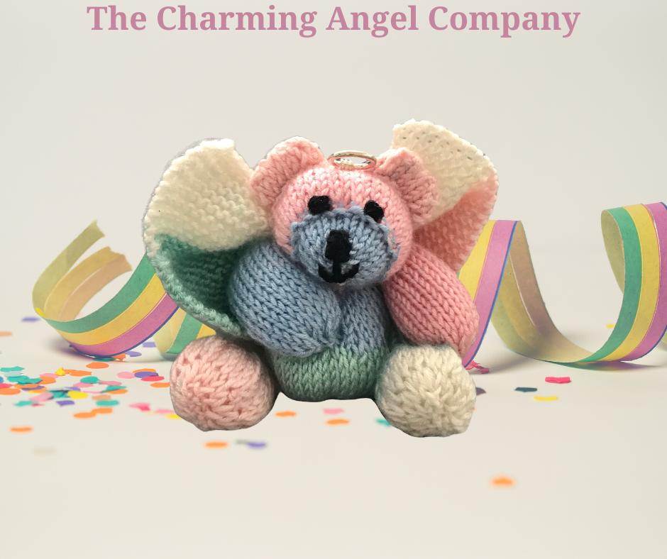 Larger rainbow angel bear