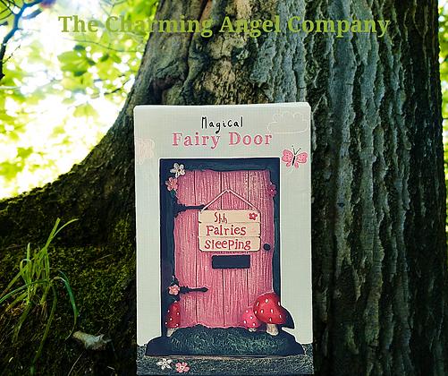 Magical Fairy door - Fairies Sleeping