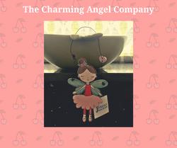 Fairy door hanger - Fleur