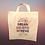 Thumbnail: Inspirational Cotton Canvas Tote Bag