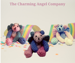 Rainbow angel bears