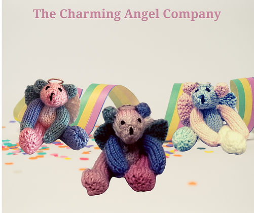 Rainbow Angel Bears