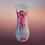 Thumbnail: Vintage Bouquet Decoupage Vase