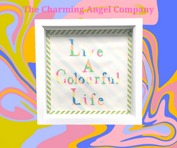 Live a colourful life picture