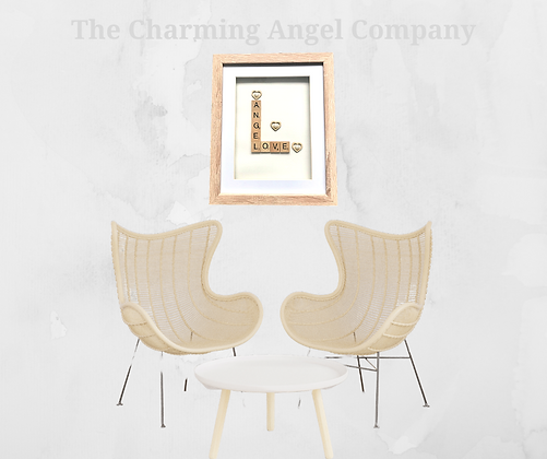 Angel Love Scrabble Picture