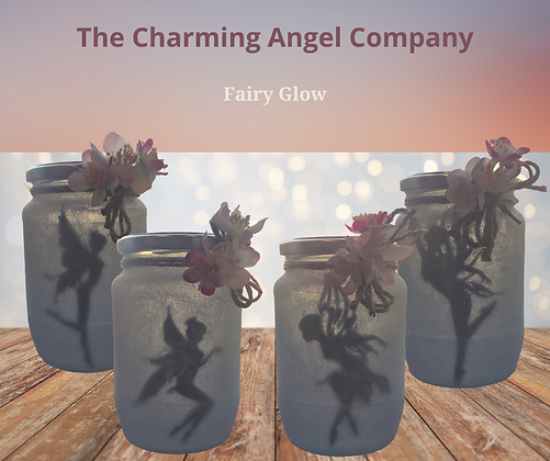 Fairy Sparkle Tea Light Jars