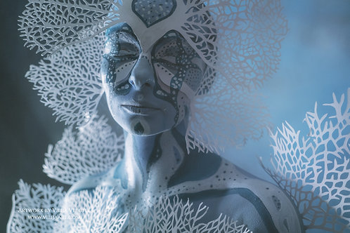 """ Coral Body"" photo poster horizontal 30x45cm"