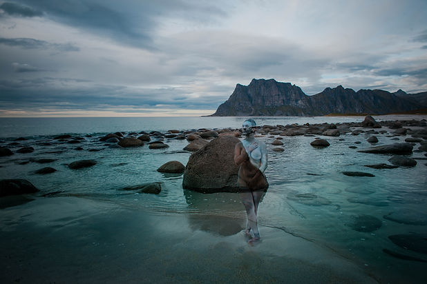 Lofoten:Siren :Photo,Bodypaint- Vilija V