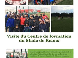 Foot : Visite du centre de formation du stade de Reims