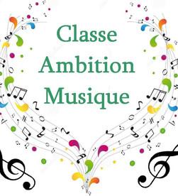 Classe Ambition Musique CAM