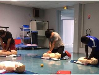 Nouveau cycle de formation certificative PSC1 (premiers secours)