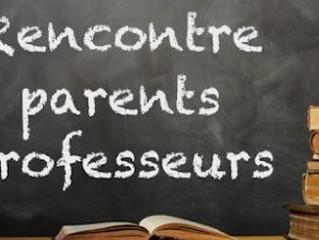 Réunion Parents/Professeurs