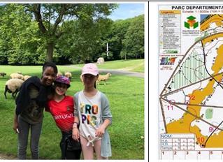 Les 6èmes au Parc de La Courneuve pour un cycle de course d'orientation !