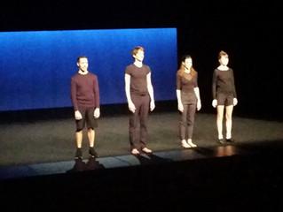 """Sortie spectacle de danse """"Ensemble ensemble"""" de Vincent Thomasset (2n2/2n3/TL1/1STMG2)"""