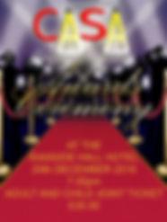 Casa performing arts Awards ceremony 2016