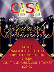 Casa performing arts Awards ceremony 2016
