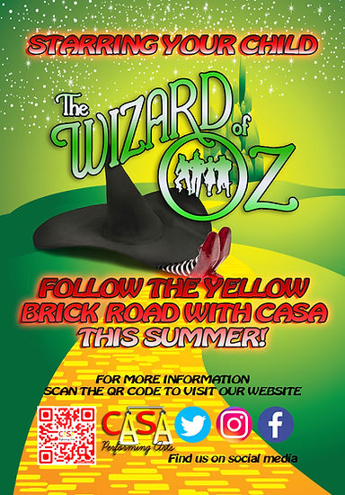 CASA Performing Arts, The Wizard of Oz