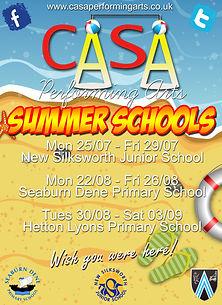 CASA Performing Arts - Summer Schools