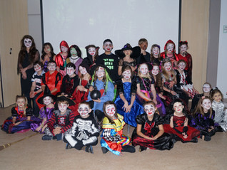 Hetton Lyons Halloween Horror show!