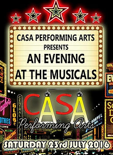 CASA Performing Arts - An Evening At The Musicals