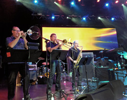 Ides horns on Moody Blues cruise PS