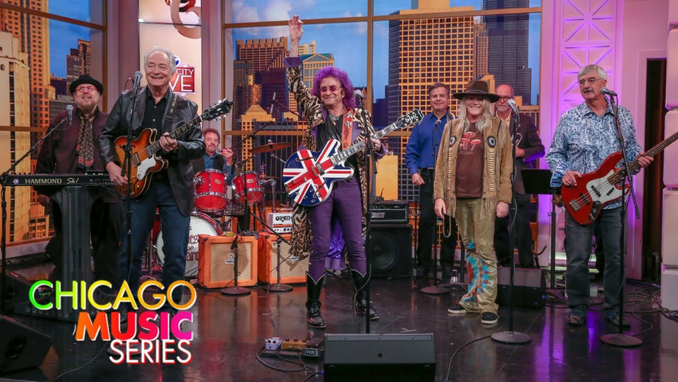 Jim Peterik and Cathy Richardson of Jefferson Starship w the Ides of March