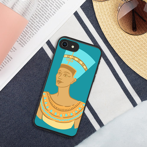 Turquoise Queen iPhone Case (Biodegradable)