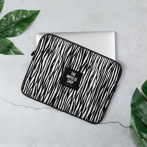 Zebra Print Laptop Sleeve