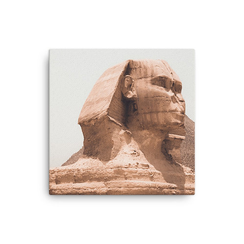 Sphinx on Canvas