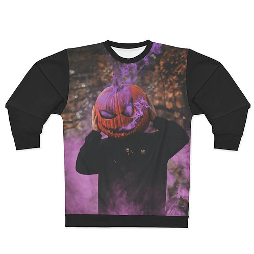 Trippy Pumpkin Sweatshirt