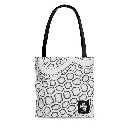 Gray Tote Bag