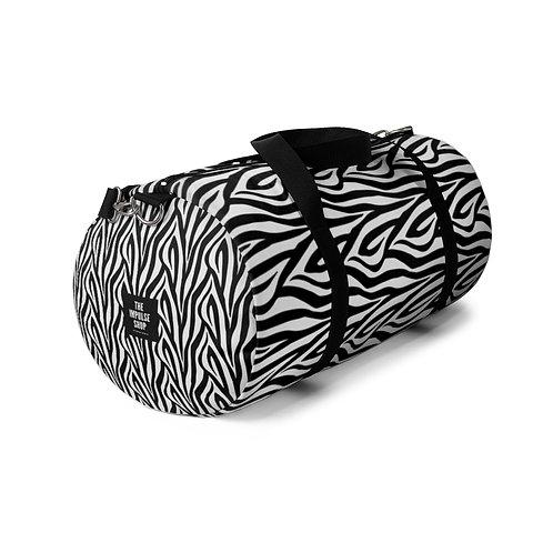 Zebra Duffel Bag