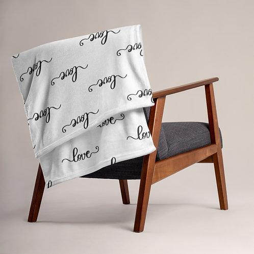 Love Love Throw Blanket