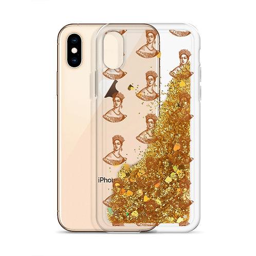 Queen Glitter Phone Case