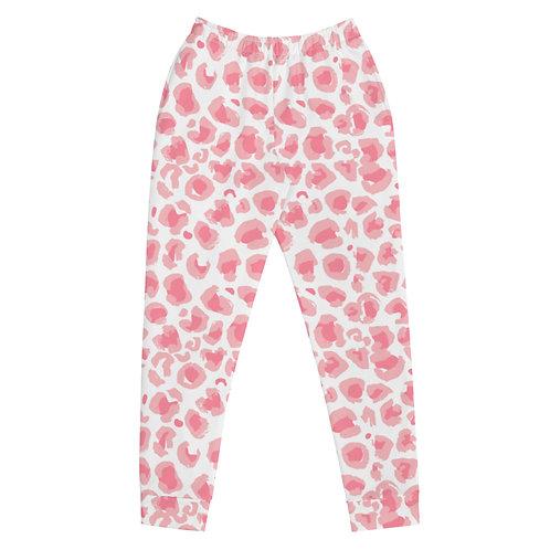 Pink Leopard Joggers