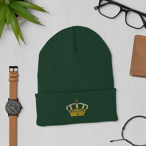 Crown Cuffed Beanie