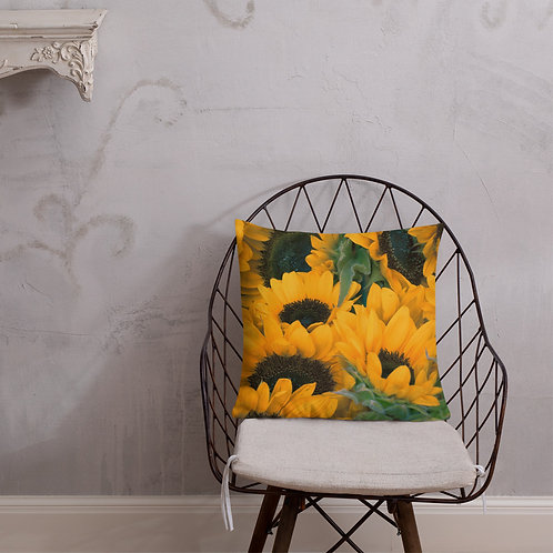 Sunflower Premium Pillow