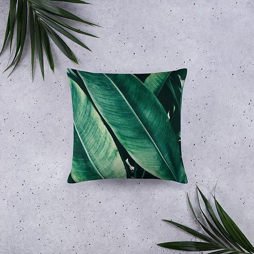 Leaf Pattern Pillow