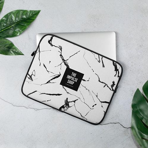 Marble Print Laptop Sleeve