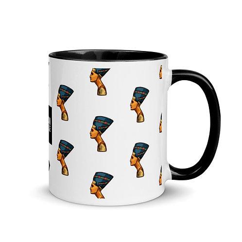 Nefertiti Mug w/ Color Inside