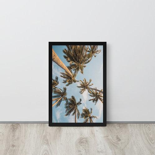 Cali Trees Framed
