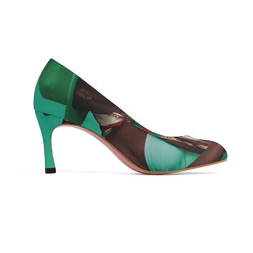 Green Lady Heels