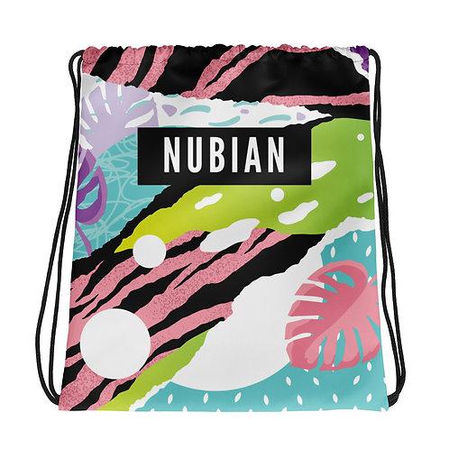 Multi-Print Drawstring bag