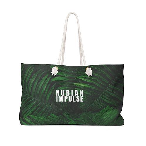 Green Leaf Weekender Bag
