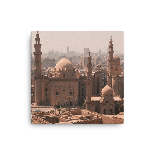 A Sacred City on Canvas