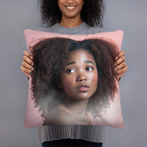 Afro Princess Pillow
