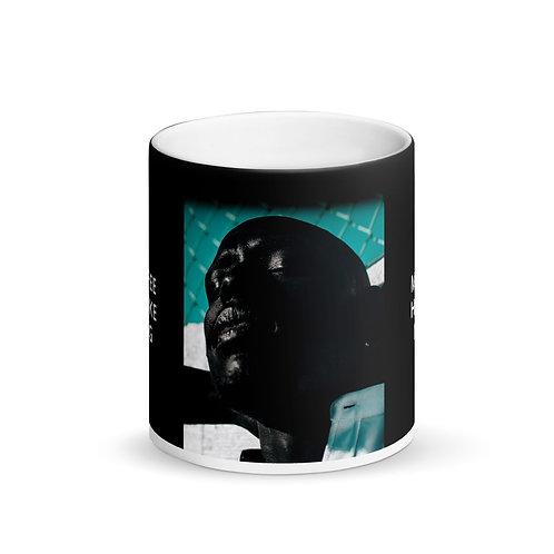 I Like My King Black Mug