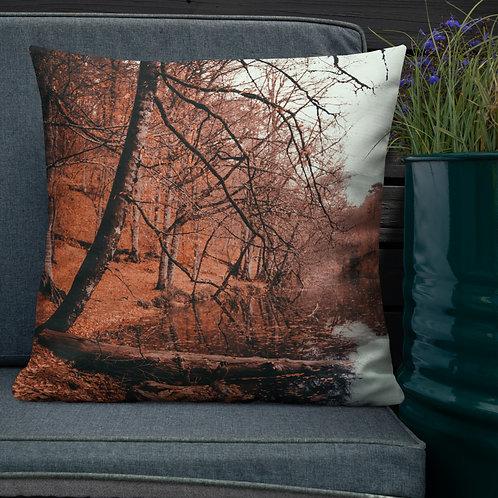 Autumn Day Premium Pillow