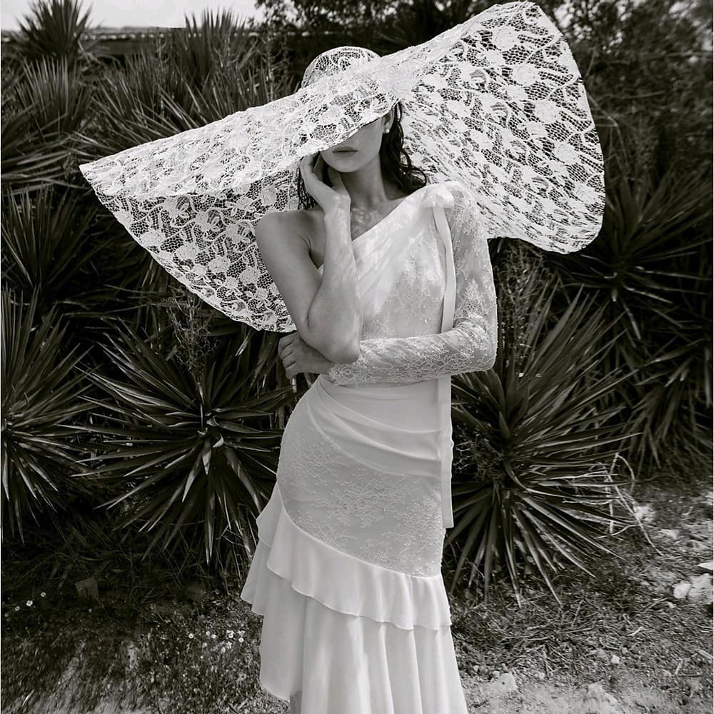 The Mandy statement hat by Livné White