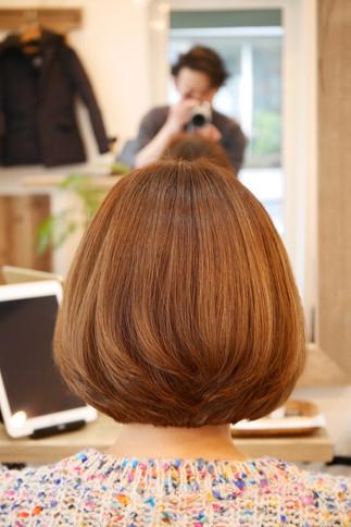 柔らか透明感あるヘアカラーの作り方♪